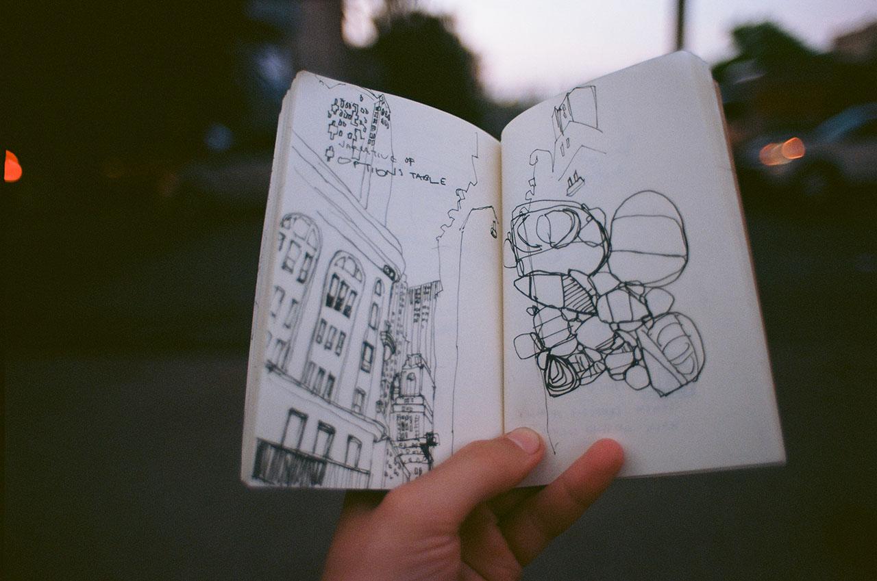 Brooklyn Manhattan sketches