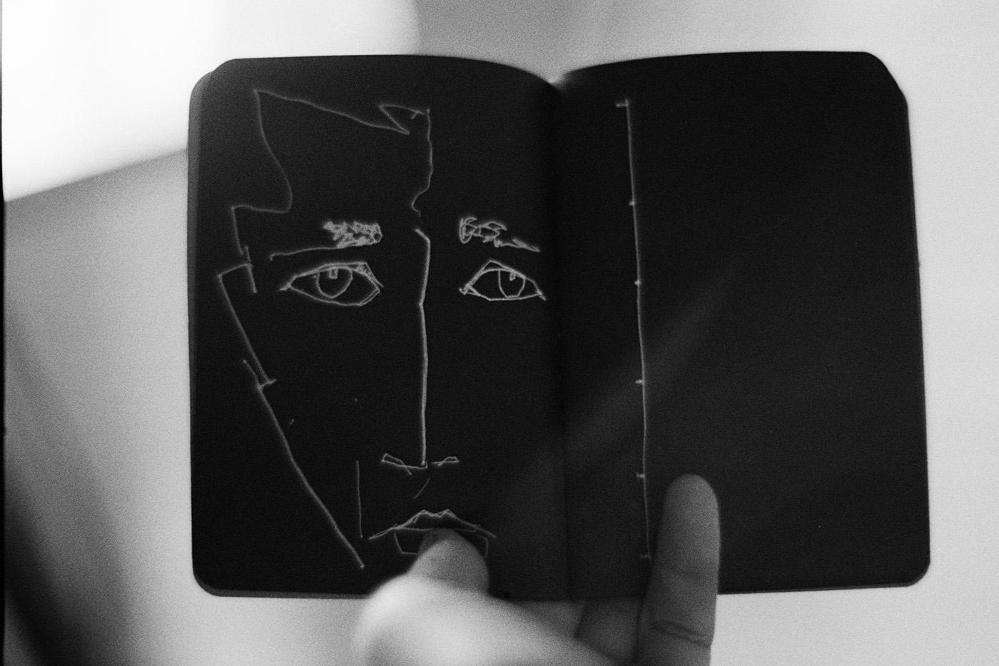 Dark Sketchbook Portrait