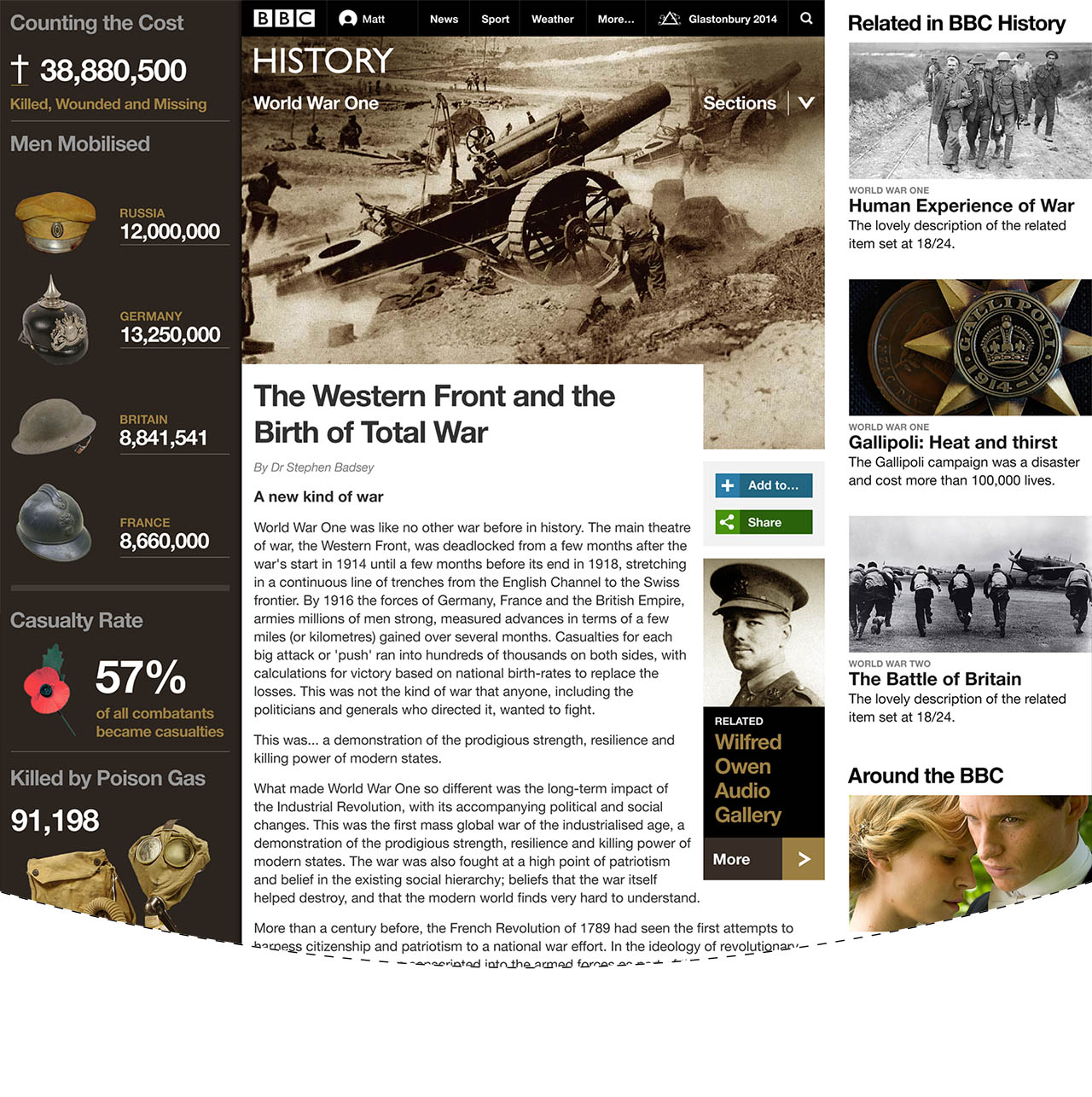 bbc history page